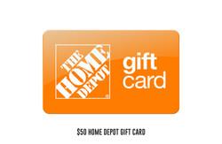 $50 Home Depot gift card