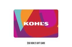 $50 Kohl's gift card