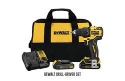 DeWalt drill-driver set