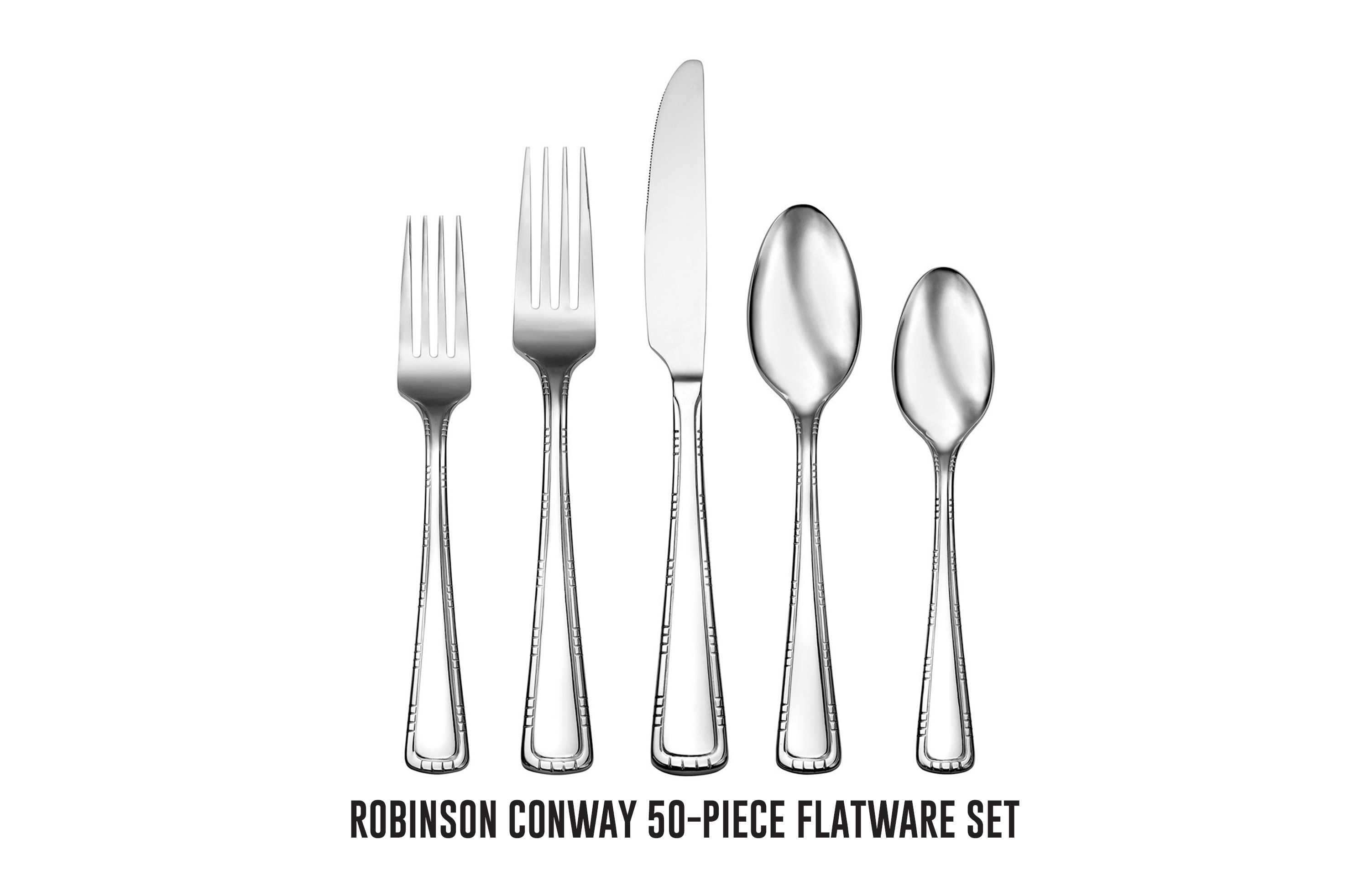 Robinson Conway 50-piece flatware set