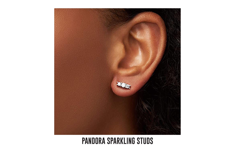 Pandora sparkling studs