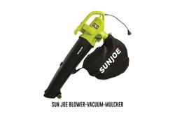 Sun Joe Blower-Vacuum-Mulcher