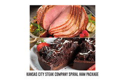 Kansas City Steak Company spiral ham pac