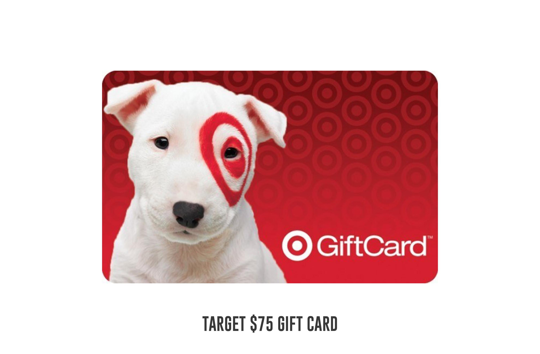 Target $75 gift card