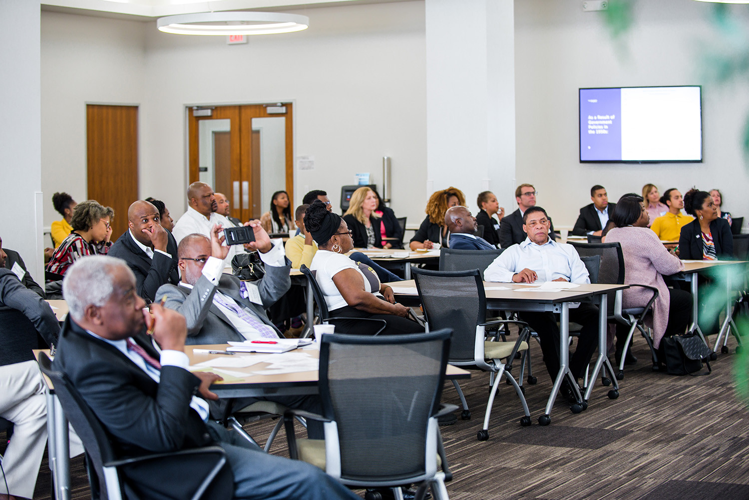 PARTNERING WITH THE AFRICAN AMERICAN CHAMBER FOR REAL ESTATE FORUMS