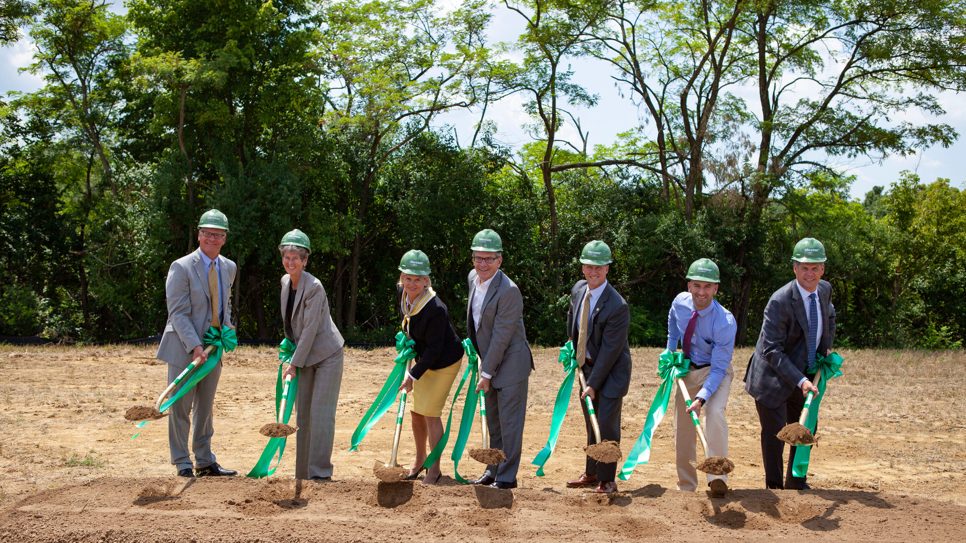 BREAKING GROUND ON NEW ADVANCED MANUFACTURING BUILDING IN BOND HILL