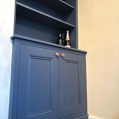 Traditional style alcove cupboard installed in rotherham