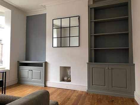 pair of alcove units in rotherham