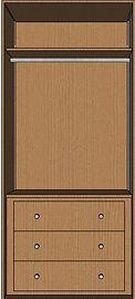 alcove wardrobe interior