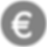 Gray Circular Euro Teken
