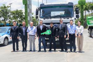 Corpus Saneamento e Obras em cerimônia de assinatura de contrato na BYD China