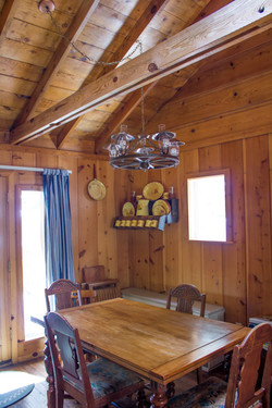 Branding Iron Cabin Dining Table