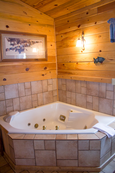 Jacuzzi Tub in Branding Iron