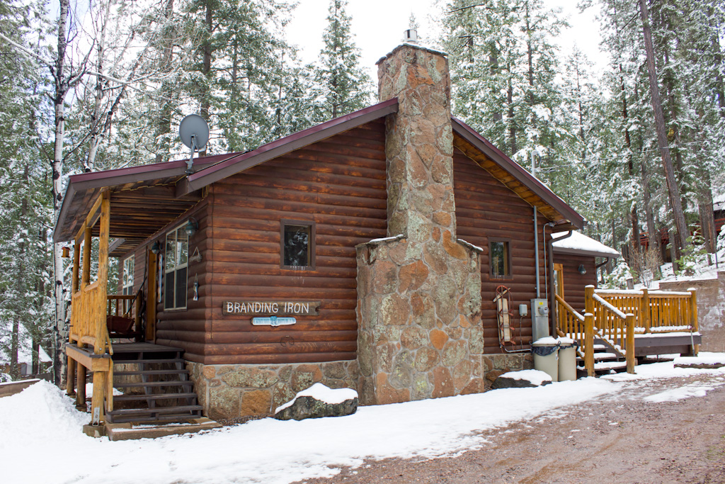 Branding  Iron Cabin