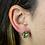 Thumbnail: Pyrite | Fancy Claw Stud Earrings