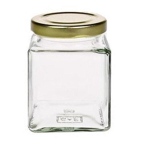 Vierkantglas 212 ml