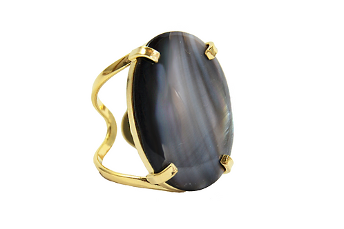 Mother Pearl | Arc Ring