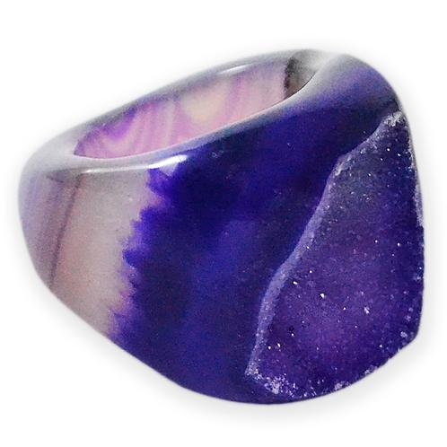 Purple Druzy | Druzy Rings