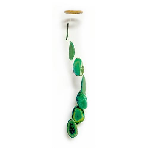 Green Wide Chimes | Decor Accessories