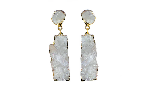 Crystal Cluster | Dropper Earrings