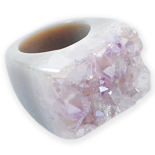 Clear Coated Ring | Coated Rings