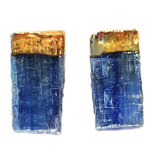 Kyanite | Electroplated Studs