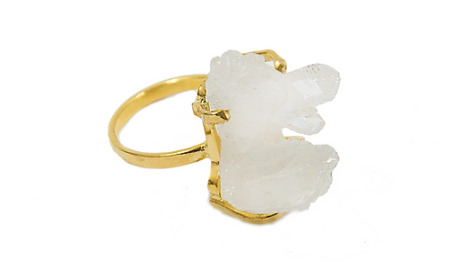Crystal | Simple Band Ring