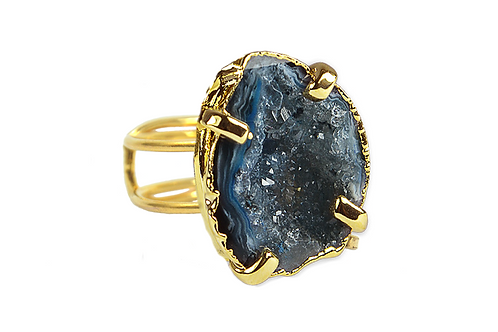 Geode | Wire Ring