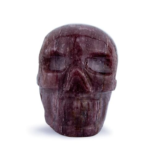 Strawberry Quartz Skull | Minerals