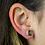 Thumbnail: Moon | Amethyst Slice Stud Earrings