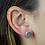 Thumbnail: Natural Druzy | Druzy Stud Earrings