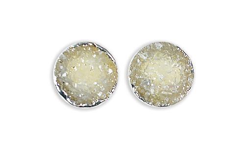 Natural Druzy | Druzy Stud Earrings
