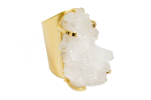 Crystal | Cuff Ring