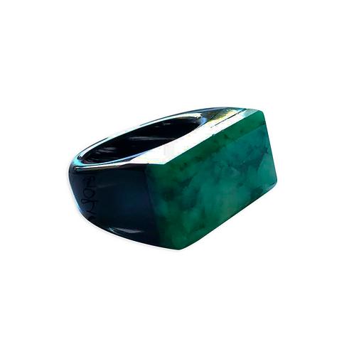 Agate Base Rings