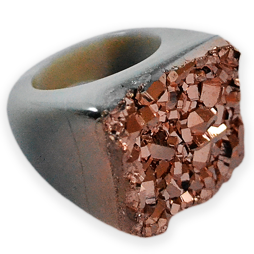 Rose Coated Ring   Coated Rings