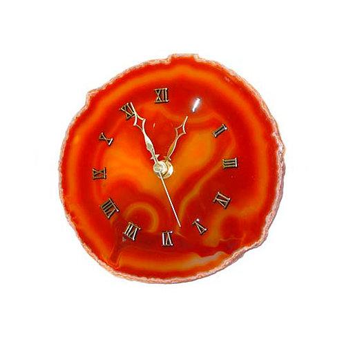 Red Agate Clocks | Decor Accessories