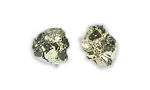 Pyrite | Gem Stud Earrings