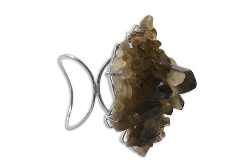 Smoky Crystal | Loop Bracelet