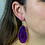 Thumbnail: Agate Slice   Hook Earrings
