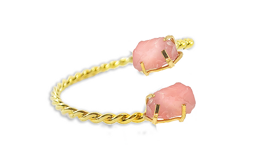 Rose Quartz | Dual Bracelet