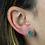Thumbnail: Green Druzy | Druzy Stud Earrings