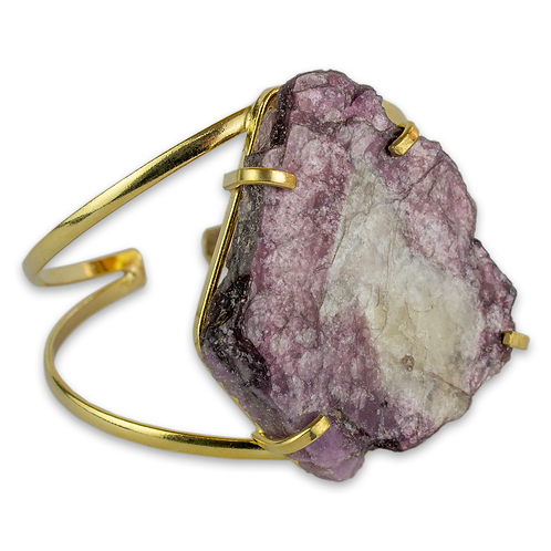 Lepidolite | Wire Bracelets