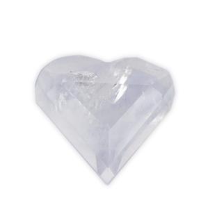 Polished Crystal Quartz Heart