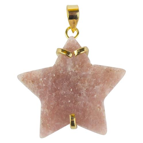 Pink Amethyst (Star) | Fancy Pendants