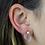 Thumbnail: Rose Quartz | Gem Stud Earrings