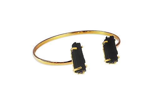 Black Tourmaline | Dual Bracelet