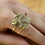 Thumbnail: Smoky Crystal | Wire Ring