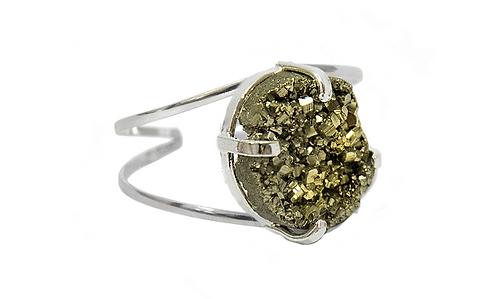 Pyrite | Wire Bracelets