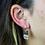 Thumbnail: Amethyst Slice   Fancy Dropper Earrings