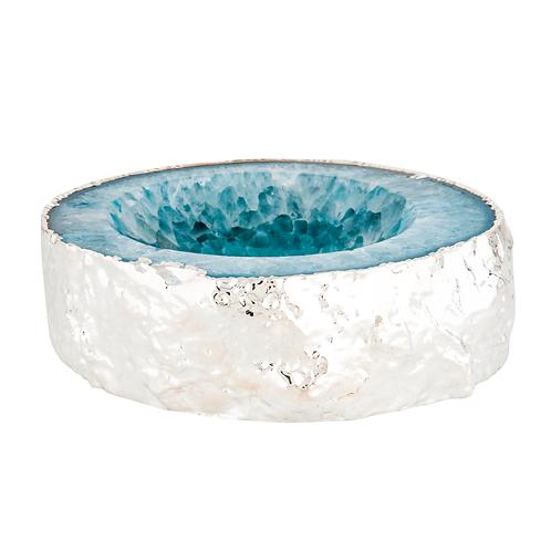 Blue Silver Ashtrays | Decor Accessories
